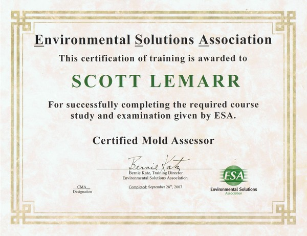 ESA Mold Assessment